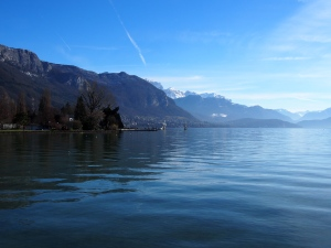 Annecy lakeshore